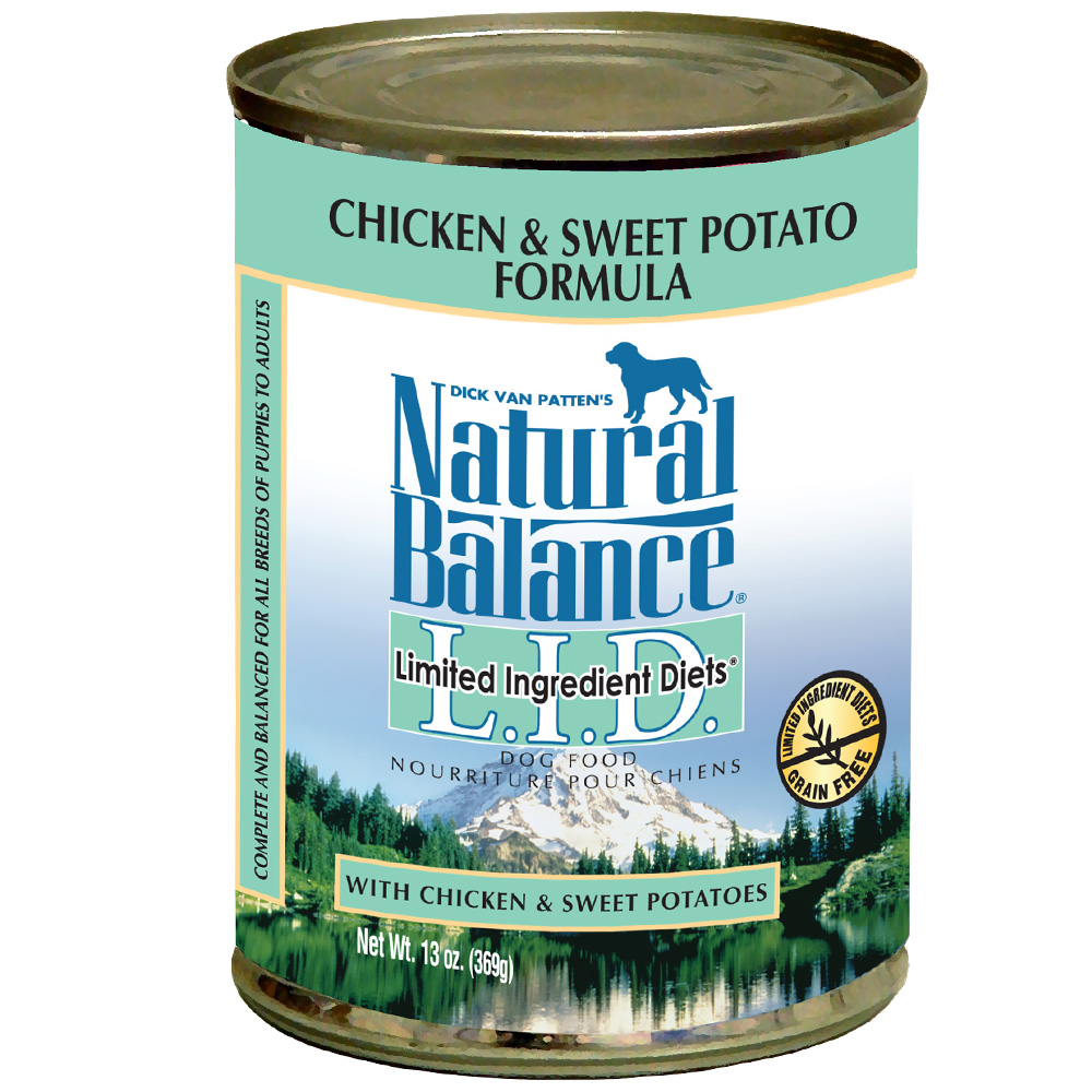 Natural Balance Limited Ingredient Diets - Chicken & Sweet Potato (13 oz Can) im test