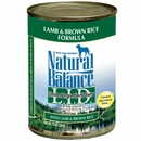 Natural Balance Limited Ingredient Diets - Lamb & Brown Rice (13 oz Can)