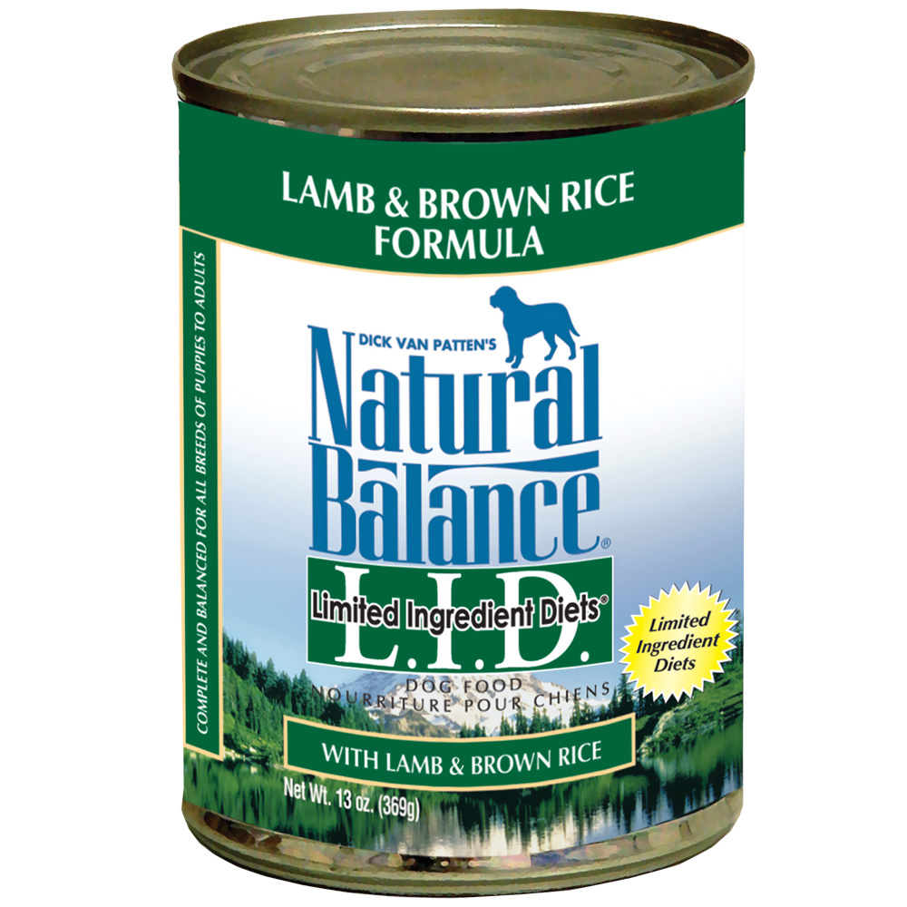 Natural Balance Limited Ingredient Diets - Lamb & Brown Rice (13 oz Can) im test
