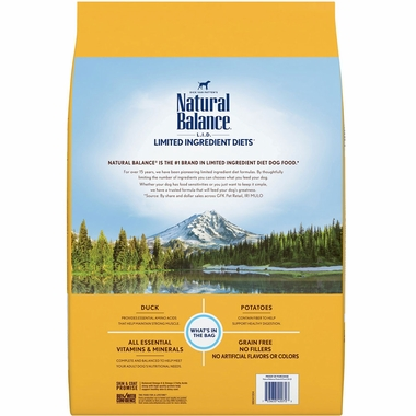NATURAL-BALANCE-DUCK-DOG-FOOD-26LB