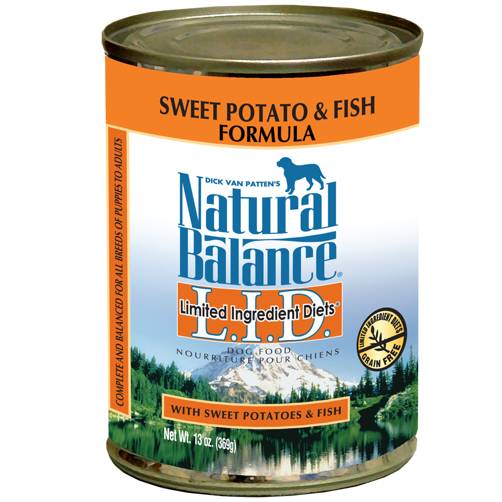 Natural Balance Limited Ingredient Diets - Sweet Potato & Fish (13 oz Can) im test