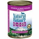 Natural Balance Limited Ingredient Diets - Venison & Sweet Potato (13 oz Can)