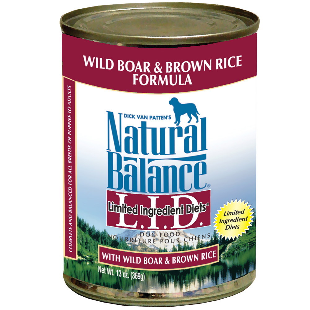Natural Balance Limited Ingredient Diets - Wild Boar & Brown Rice (13 oz Can) im test