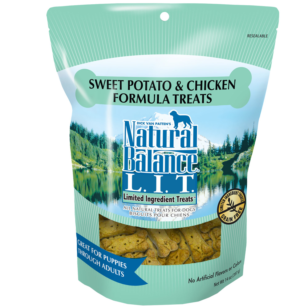 Natural Balance Limited Ingredient Treats - Sweet Potato & Chicken (14 oz) im test