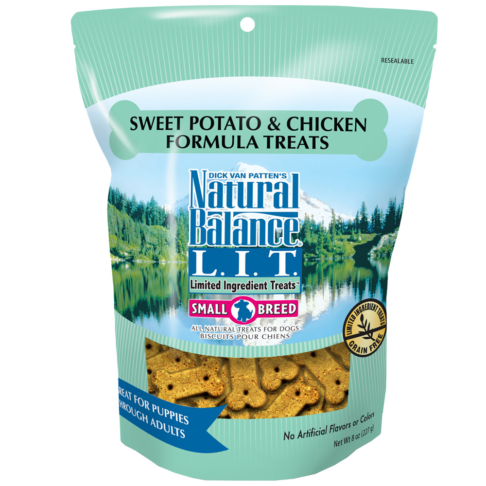 Natural Balance Limited Ingredient Treats - Sweet Potato & Chicken (8 oz) im test