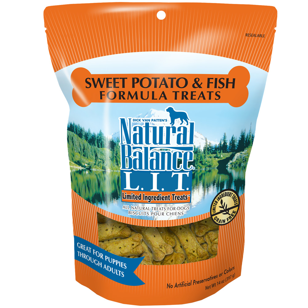 Natural Balance Limited Ingredient Treats - Sweet Potato & Fish (14 oz) im test