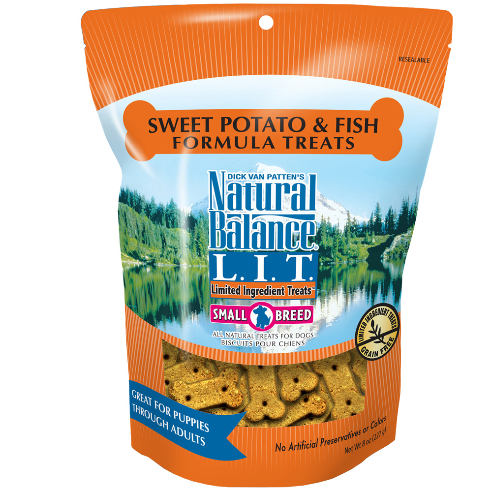 Natural Balance Limited Ingredient Treats - Sweet Potato & Fish (8 oz) im test