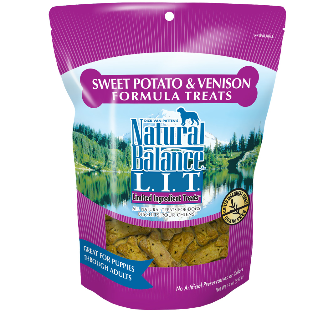 Natural Balance Limited Ingredient Treats - Sweet Potato & Venison (14 oz) im test
