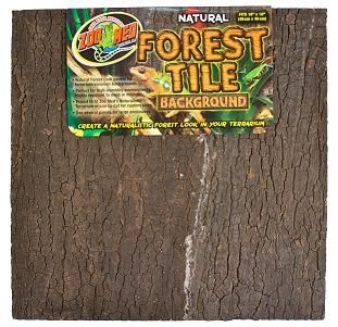 "Natural Forest Tile Background (12""x18"") fits NT-2 med"