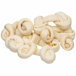 "Natural Round Knot Beef Rawhide Bone 4"" (16 oz)"