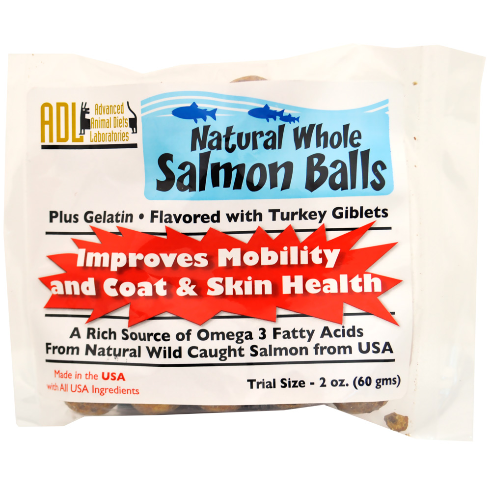 Natural Whole Salmon Balls (2 oz)