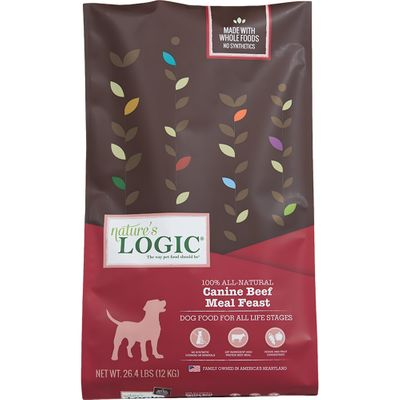 Nature's Logic Dry Beef for Dogs (26.4 lb)