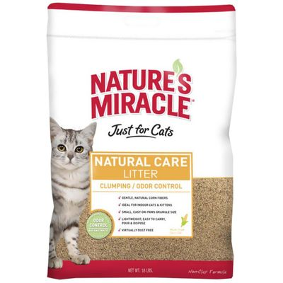 Nature's Miracle Odor Control Clumping Cat Litter (20 lb)