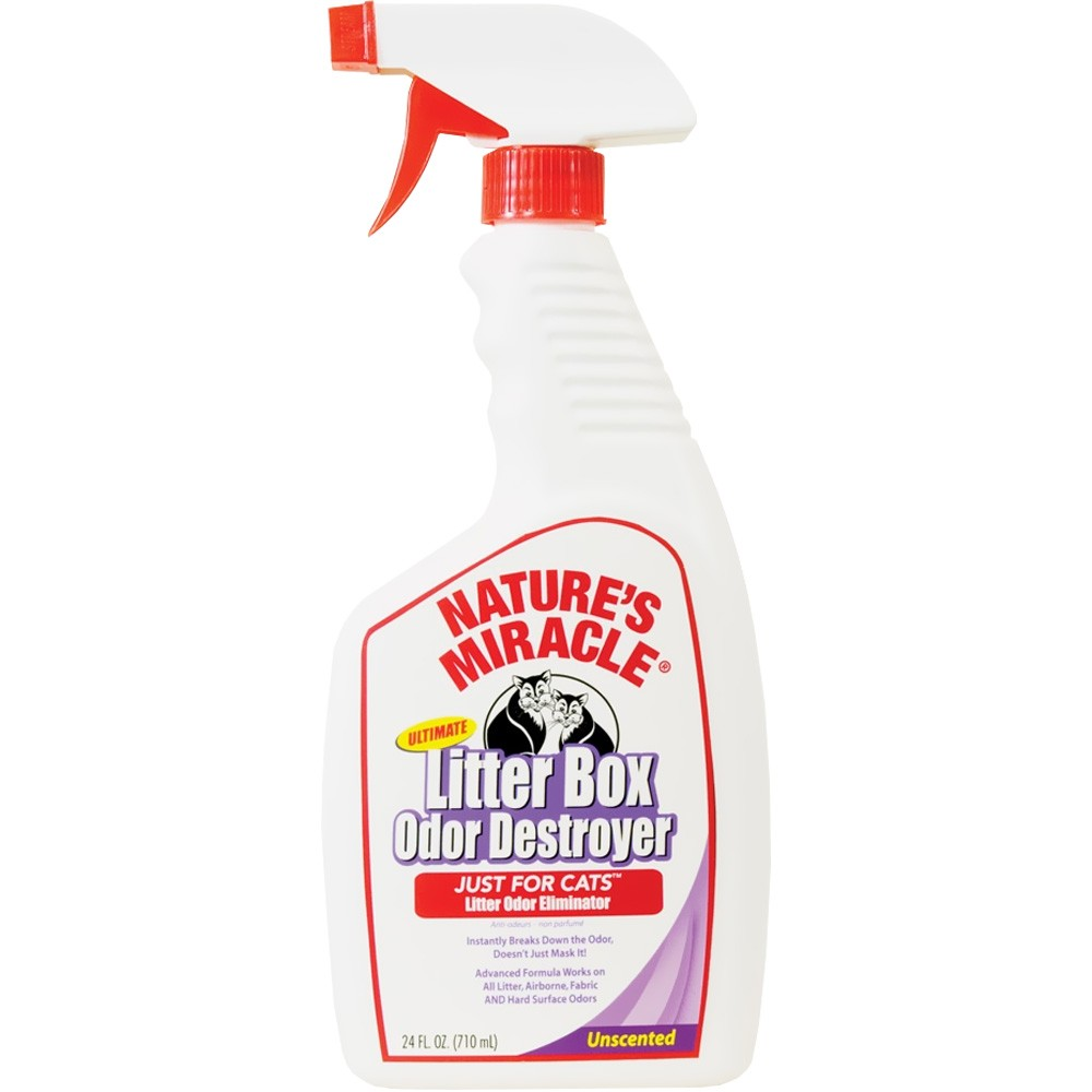 Nature's Miracle Ultimate Litter Box Odor Destroyer Spray for Cats (24 oz) im test