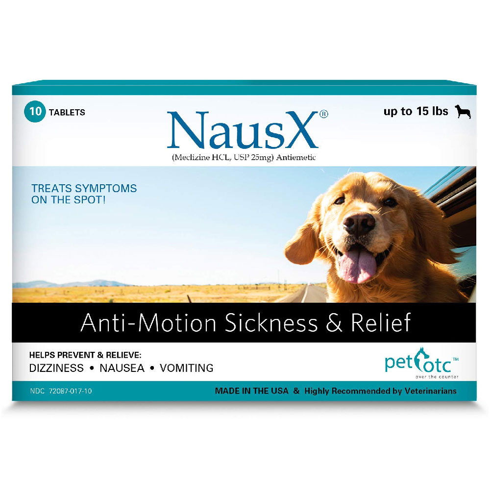 NausX Anti-Motion Sickness & Relief Up to 15 lbs (10 tablets) im test