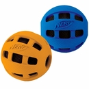Nerf Dog Crunchable Checker Ball - Large (4 in) Assorted