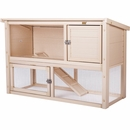 New Age Farm Columbia Rabbit Hutch - Maple