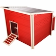 New Age Farm Jumbo Fontana Chicken Barn - Red