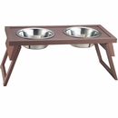 New Age Pet Adjustable Height Diner - Russet Large