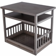 New Age Pet Dog Bed/Nightstand - Grey