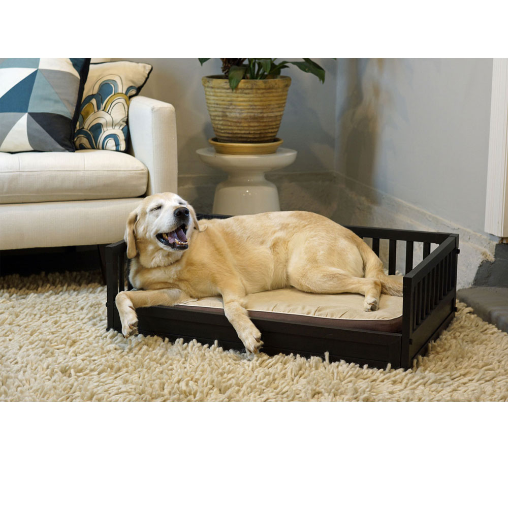 NEW-AGE-PET-DOG-BED-COVER-ESPRESSO-MEDIUM