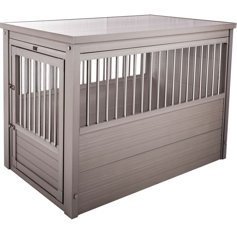 Image of New Age Pet Dog Crate - Grey Extra Large