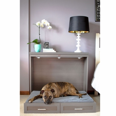 NEW-AGE-PET-MURPHY-STYLE-BED-ANTIQUE-WHITE