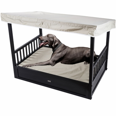 NEW-AGE-PET-OUTDOOR-DOG-BED-COVER-ESPRESSO