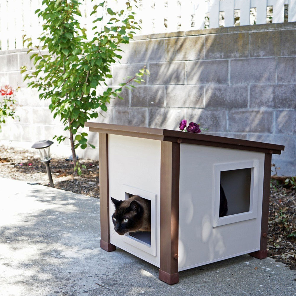 NEW-AGE-PET-OUTDOOR-FERAL-CAT-HOUSE