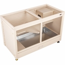 New Age Pet Park Avenue Indoor Rabbit Hutch - Maple