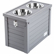 New Age Pet Piedmont Diner with Storage - Grey
