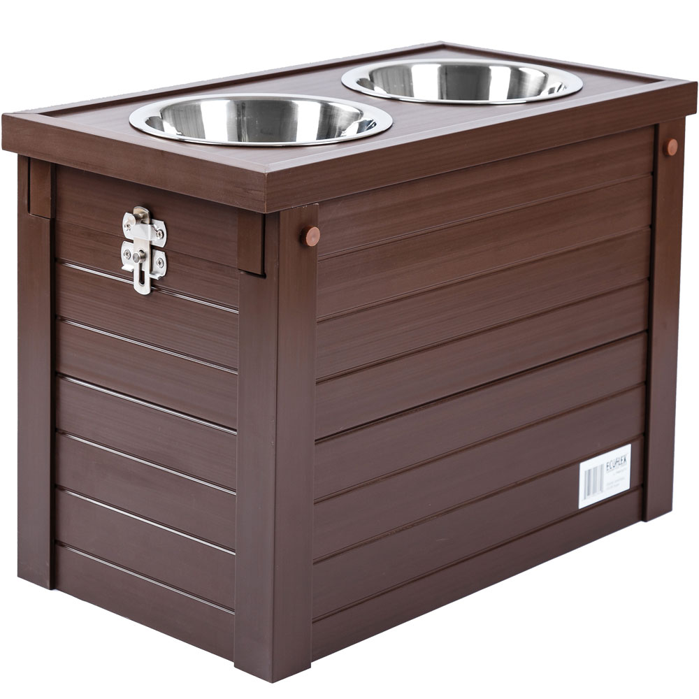 Image of New Age Pet Piedmont Diner with Storage - Russet