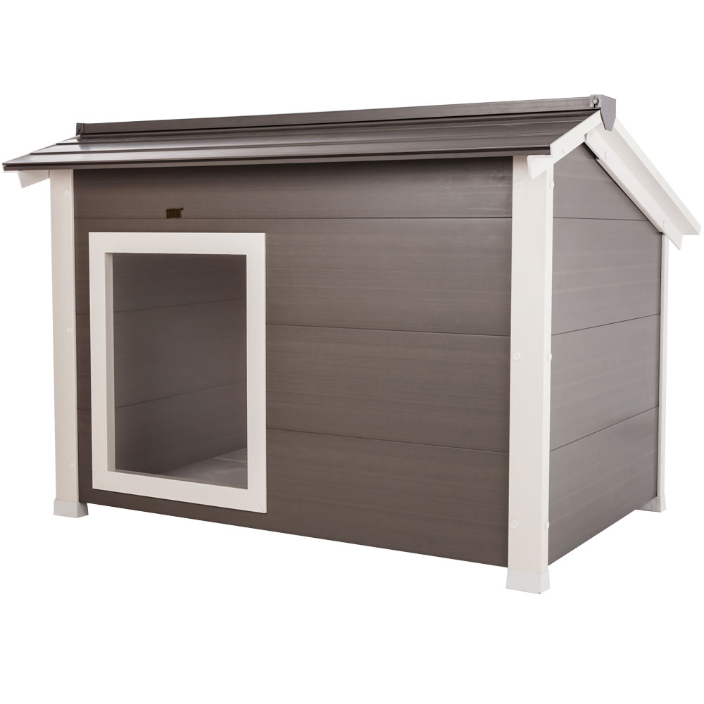 NEW-AGE-PET-THERMOCORE-DOG-HOUSE-GREY
