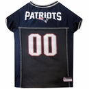 New England Patriots Dog Jersey - Large