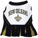 New Orleans Saints Cheerleader Dog Dress - Small