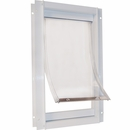 New Style Plastic & Deluxe Pet Door - Medium