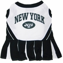 New York Jets Cheerleader Dog Dress - Small