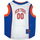 New York Knicks Dog Jersey - Medium