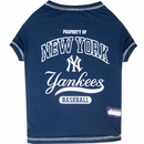 New York Yankees Dog Tee Shirts