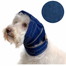 "No Flap Ear Wrap, Denim Blue, Small / Medium, 7"" - 9"" / 15"" - 19"""