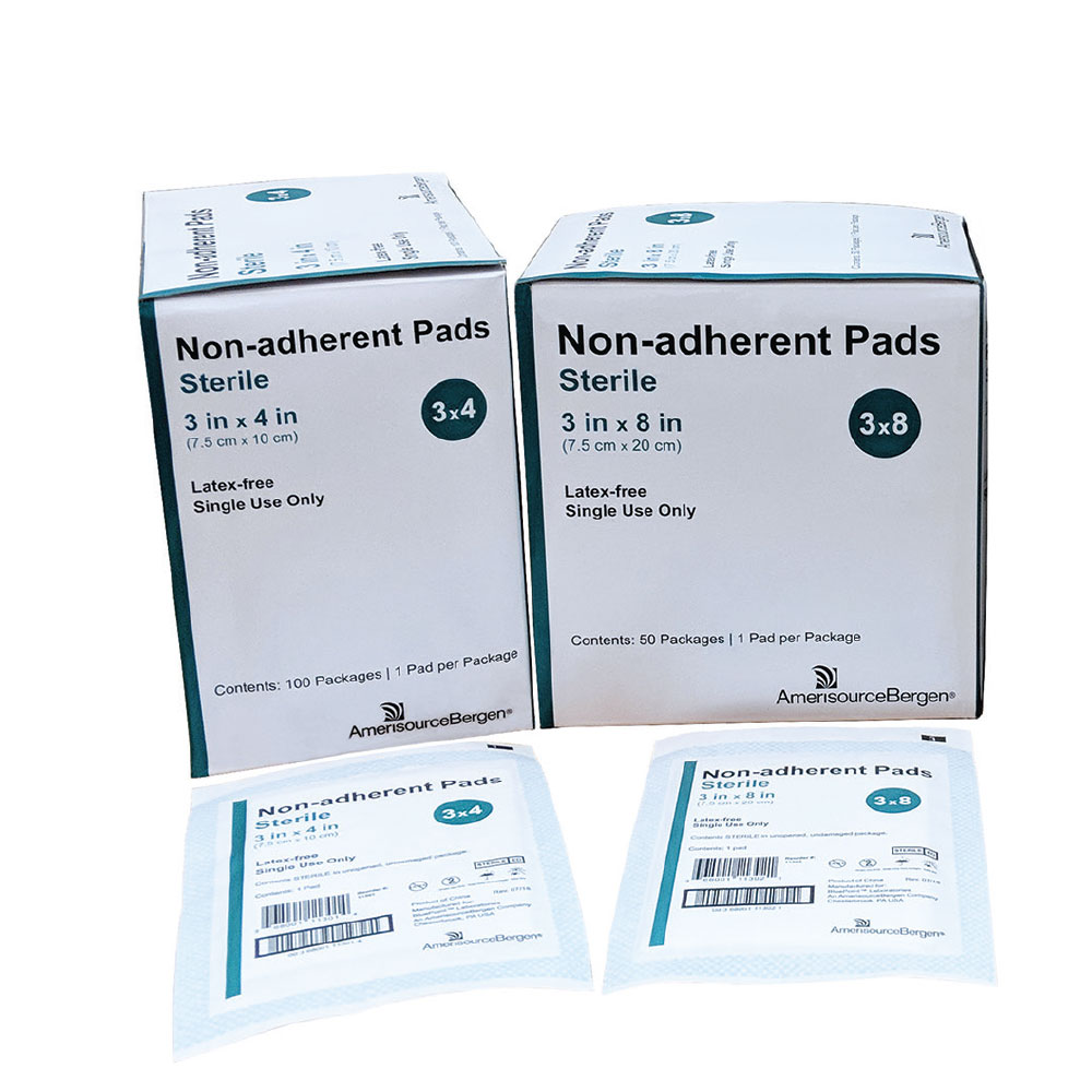 """Non-Adherent Pad Sterile - Latex-Free (3""""x8"""")"" im test"