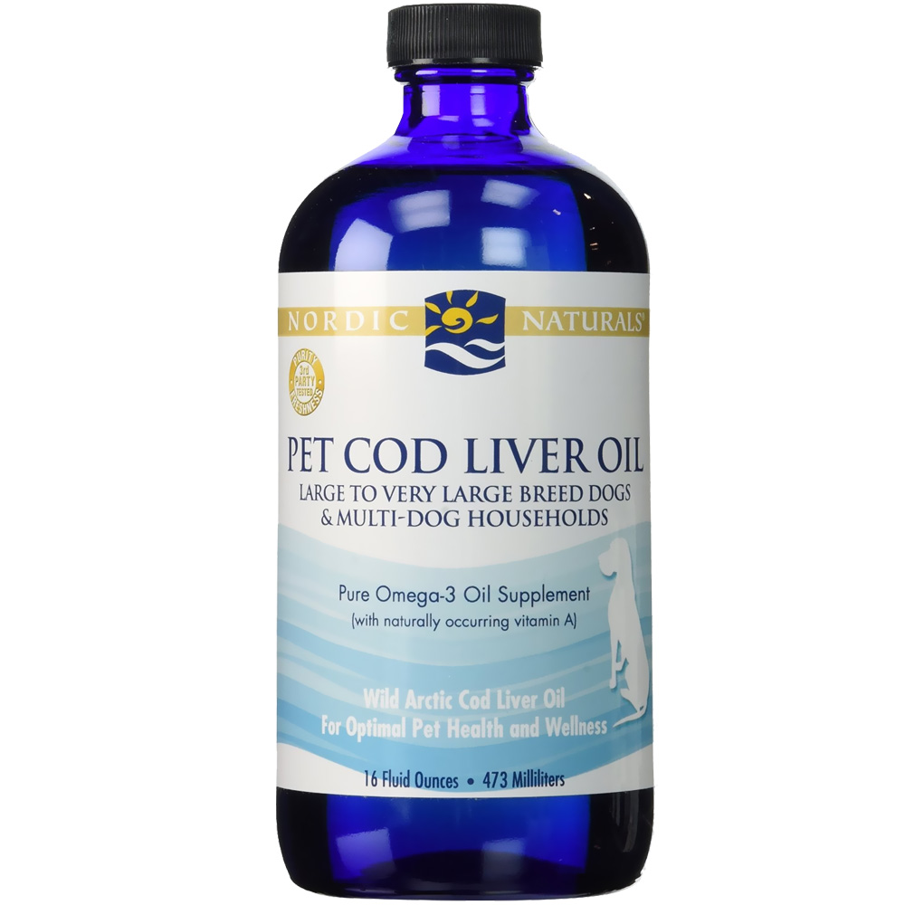 Nordic Naturals Pet Cod Liver Oil for Large to Very Large Breed Dogs (16 oz) im test