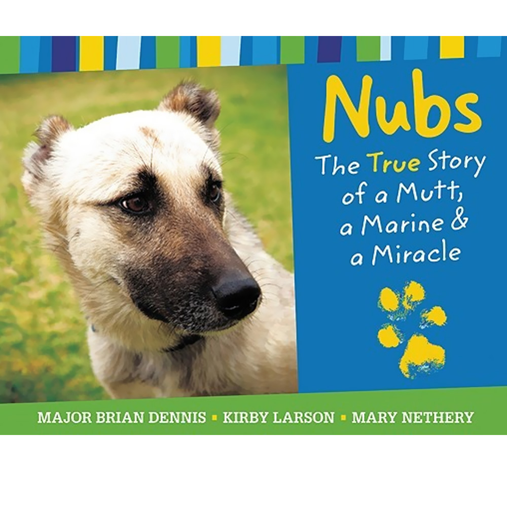 Nubs The True Story of a Mutt, A Marine & A Miracle - Book im test