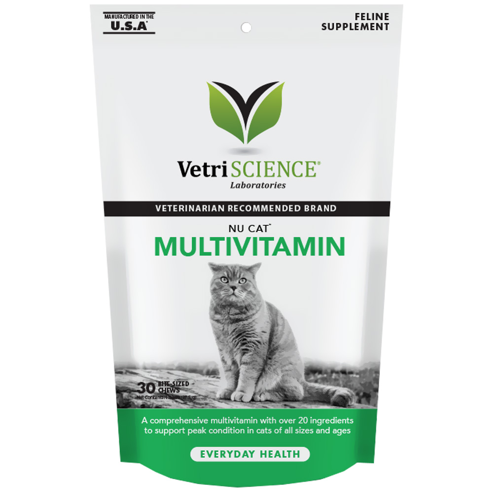NuCat Multivitamin for Cats (30 Bite-Sized Chews) im test