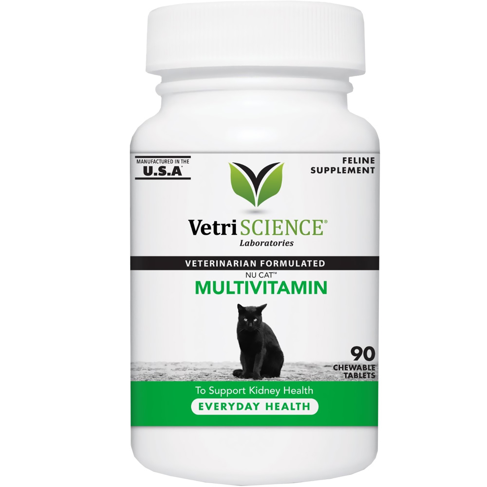 NuCat Multivitamin for Cats (90 Chewable Tablets) im test
