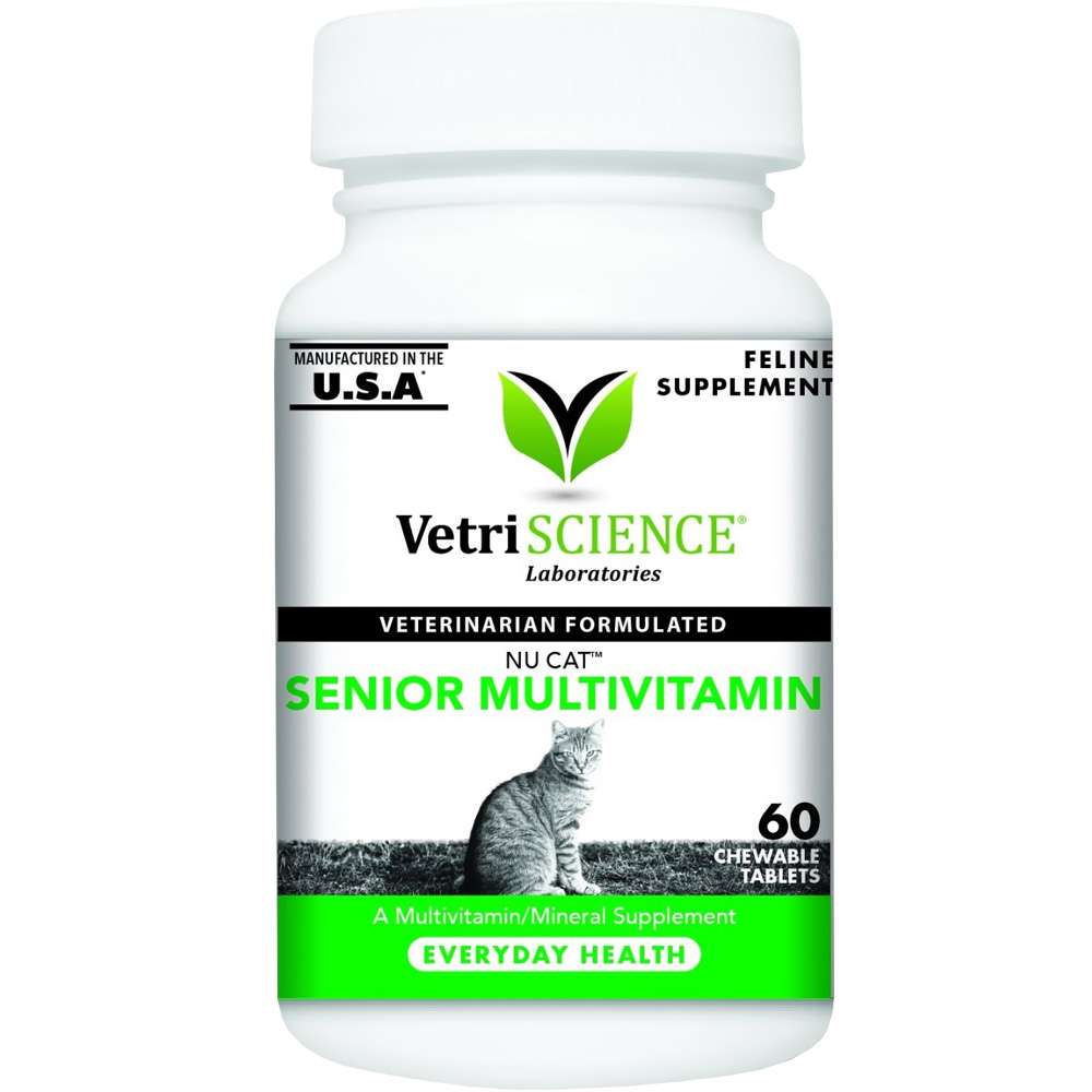 NuCat Senior Multivitamin for Cats (60 Chewable Tablets) im test