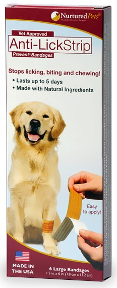 Nurtured Pets Anti-Lick Strip