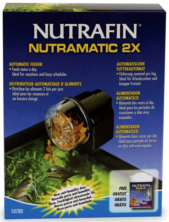Nutrafin Nutramatic 2X Automatic Fish Food Feeder im test