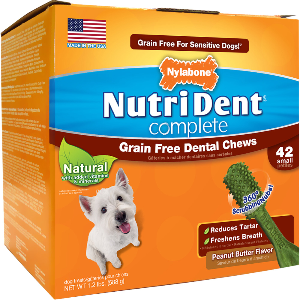 NUTRI-DENT-DENTAL-CHEW-PEANUT-BUTTER-SMALL-42-COUNT