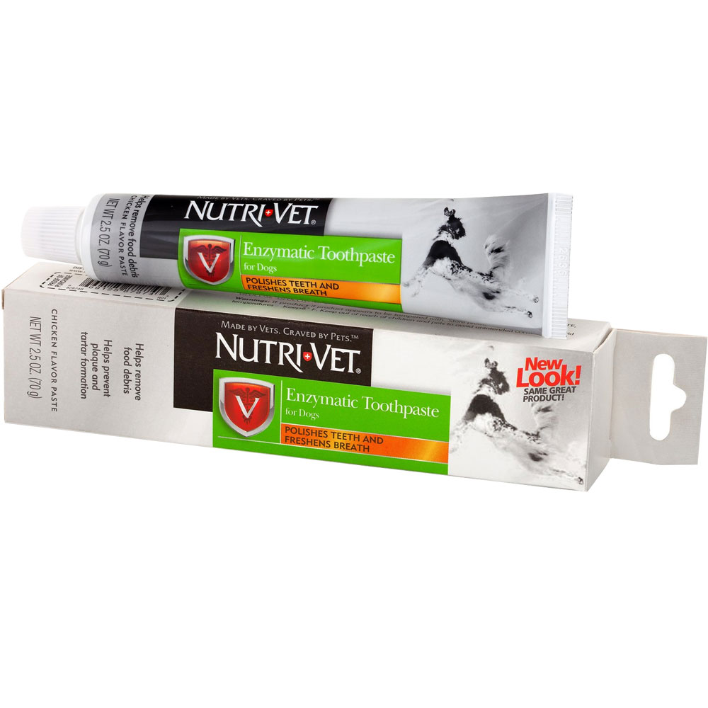 Nutri-Vet Enzymatic Toothpaste for Dogs (2.5 oz) im test